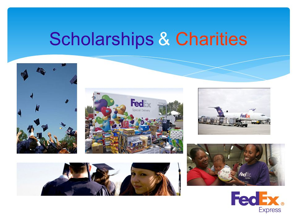 Scholarships & Charities