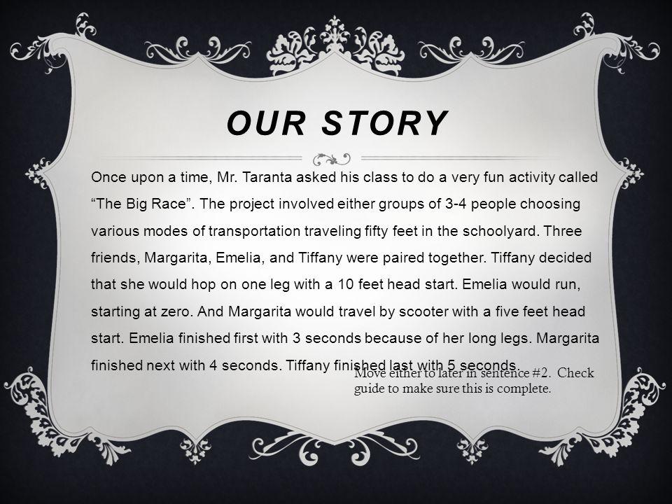 THE BIG RACE By Emelia Holness, Tiffany Coles, and Margarita Amihava