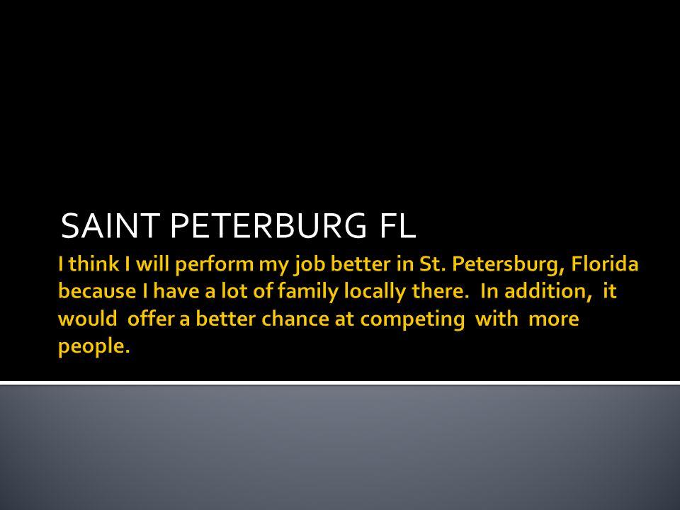 SAINT PETERBURG FL