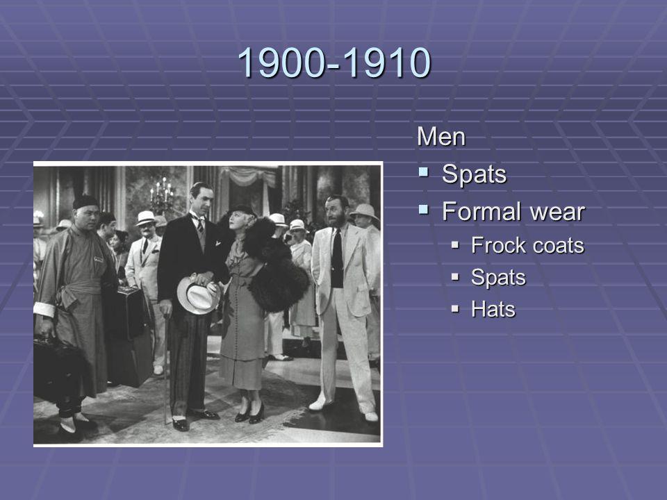 1911-1920  World War I  Hobble skirts- women's legs revealed for the first time!  Narrow shape