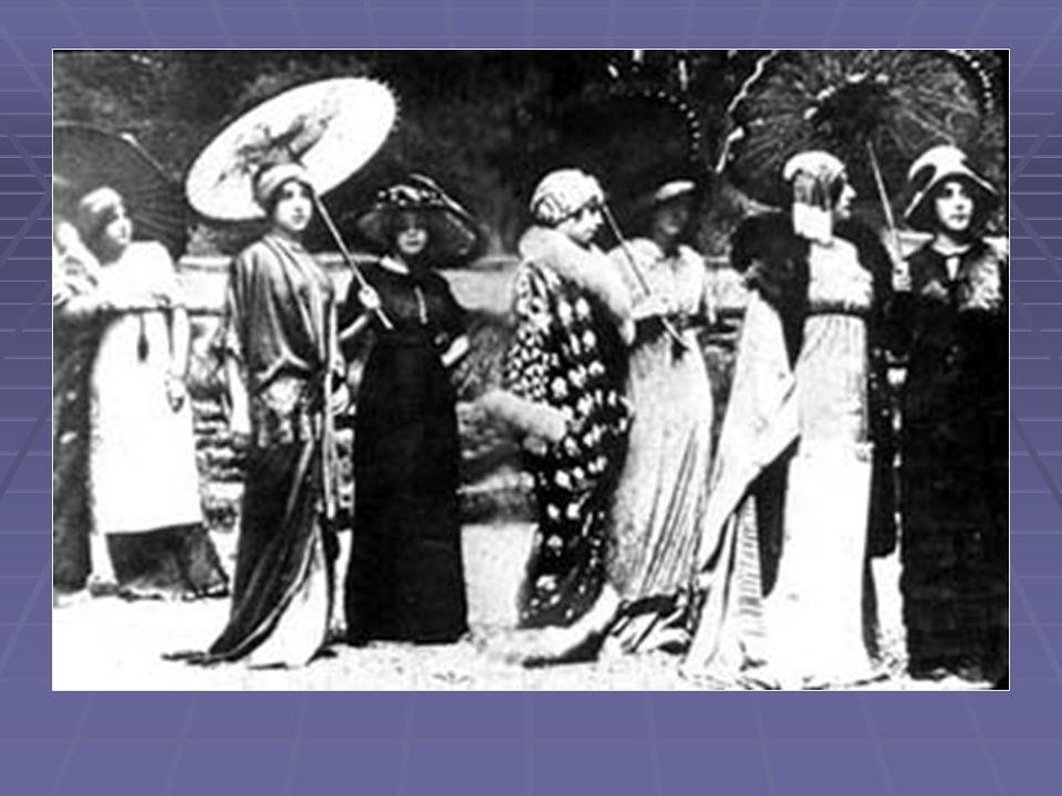 1911-1920  Men  Simpler form of dress more popular