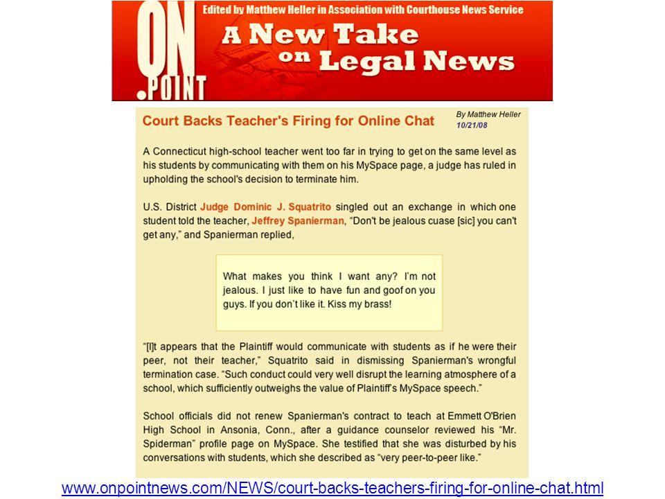 www.onpointnews.com/NEWS/court-backs-teachers-firing-for-online-chat.html
