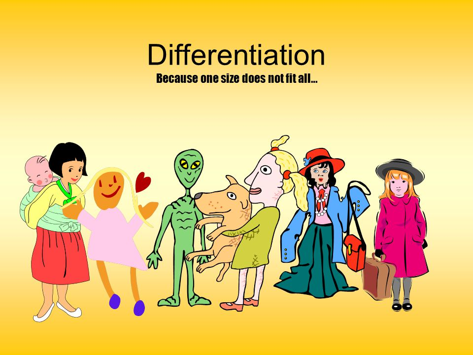 THE DIFFERENTIATION TRAP 1   Posted by: Banzai at 13 Feb 2012 18:17 Hi there, I am an NQT at a school with many pupils with statements and learning difficulties.