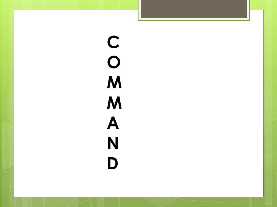 COMMANDCOMMAND