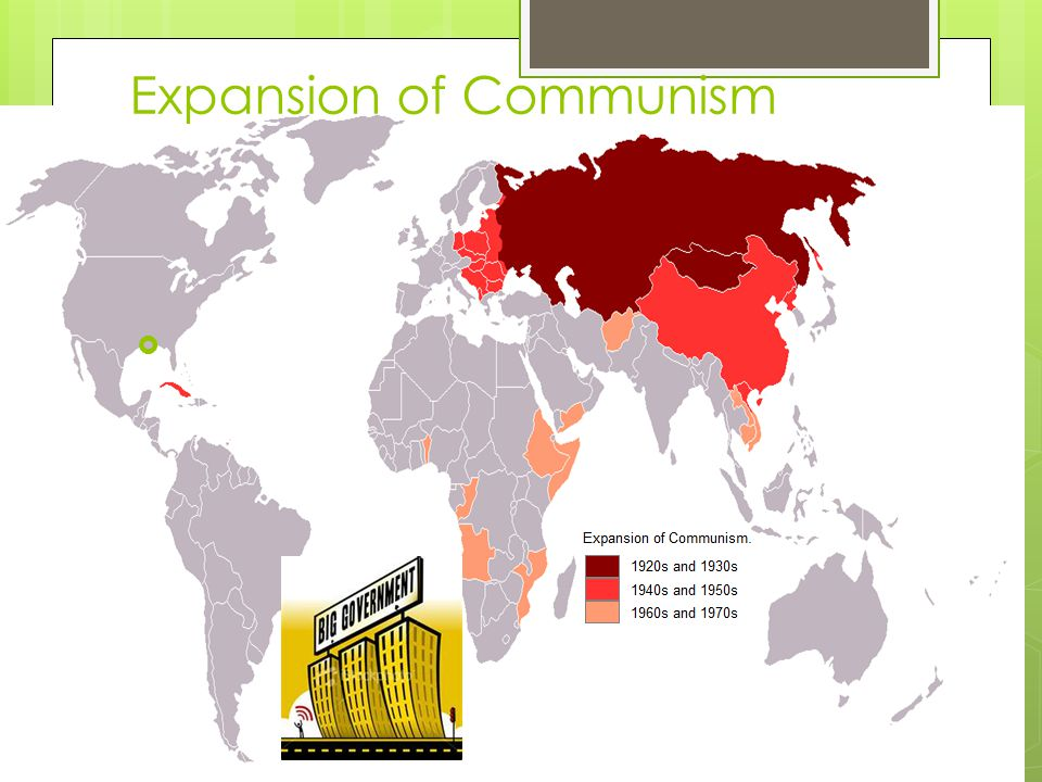 Expansion of Communism 