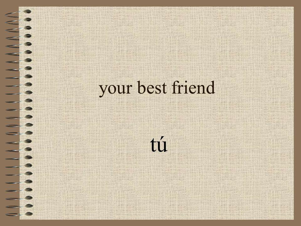 your best friend tú