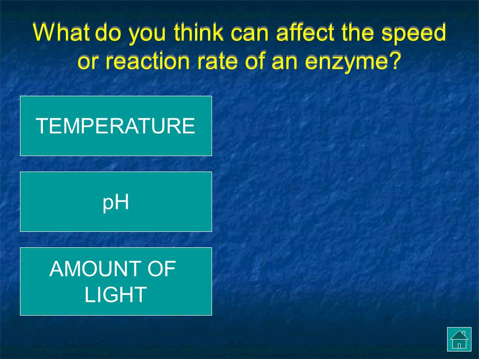 This reaction ended SOONER, thus the enzyme worked FASTER.