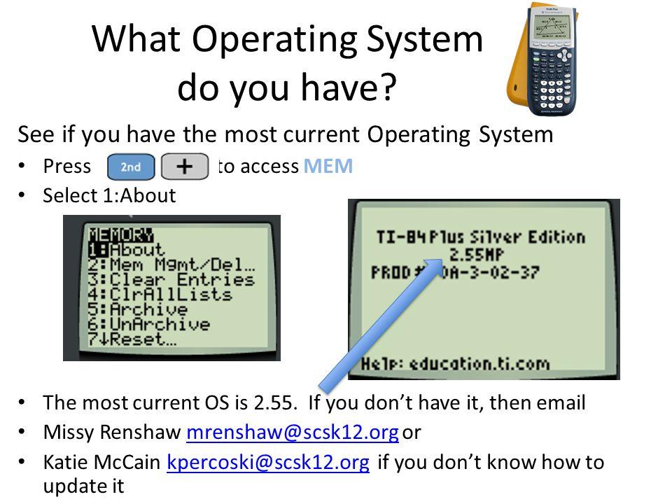 Link for the entire document http://facstaff.bloomu.edu/skokoska/T I84PlusGuidebook.pdf