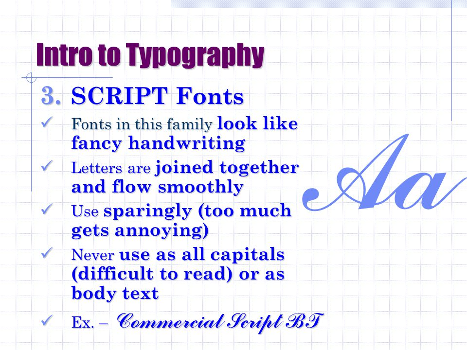 Intro to Typography 2.