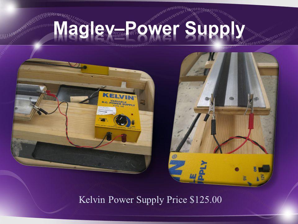 Kelvin Power Supply Price $125.00