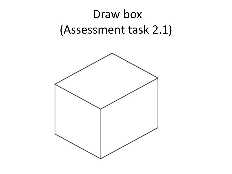 Draw box (Assessment task 2.1)