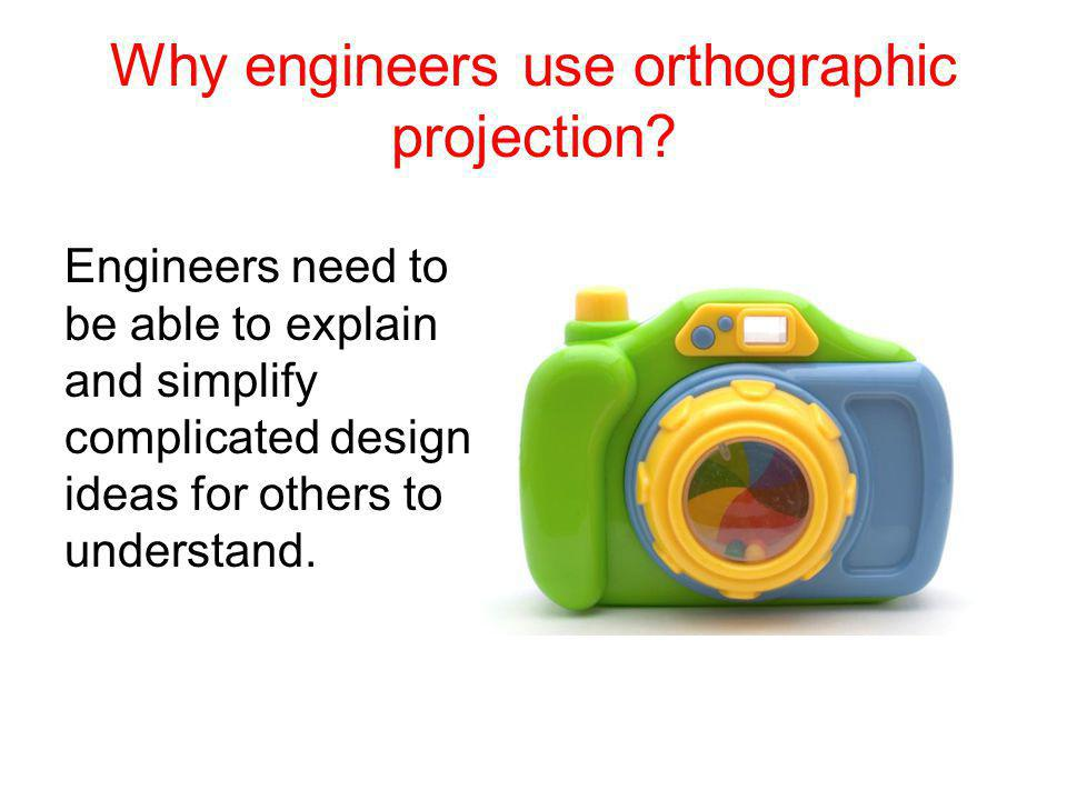 Why engineers use orthographic projection.