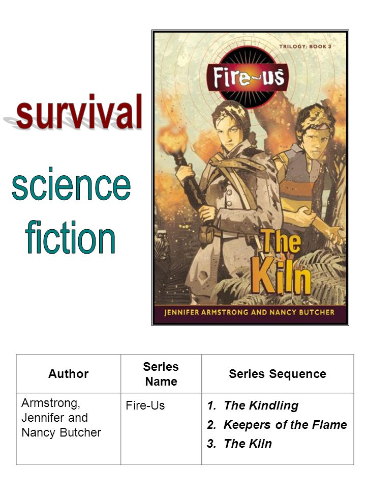 Author Series Name Series Sequence Armstrong, Jennifer and Nancy Butcher Fire-Us1.