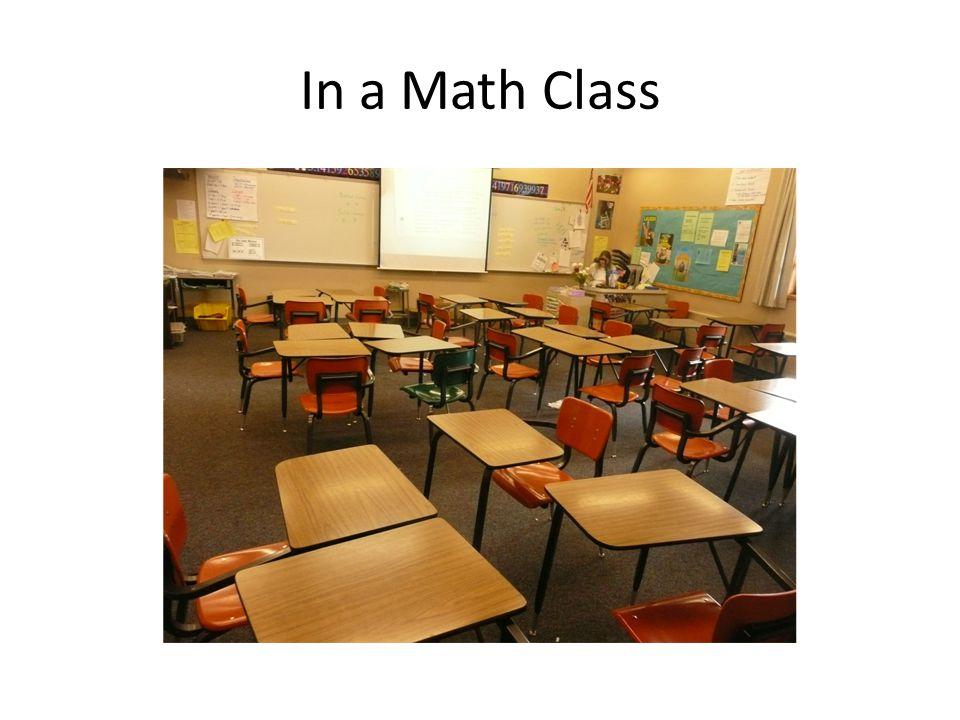 In a Math Class
