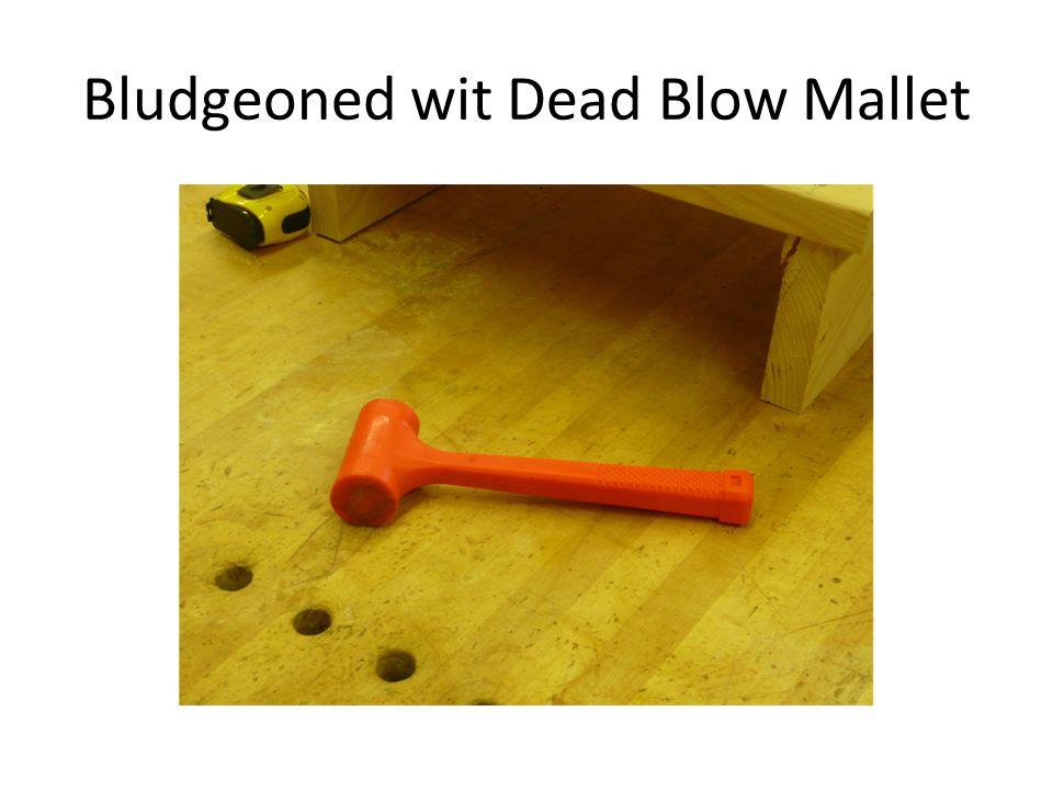 Bludgeoned wit Dead Blow Mallet