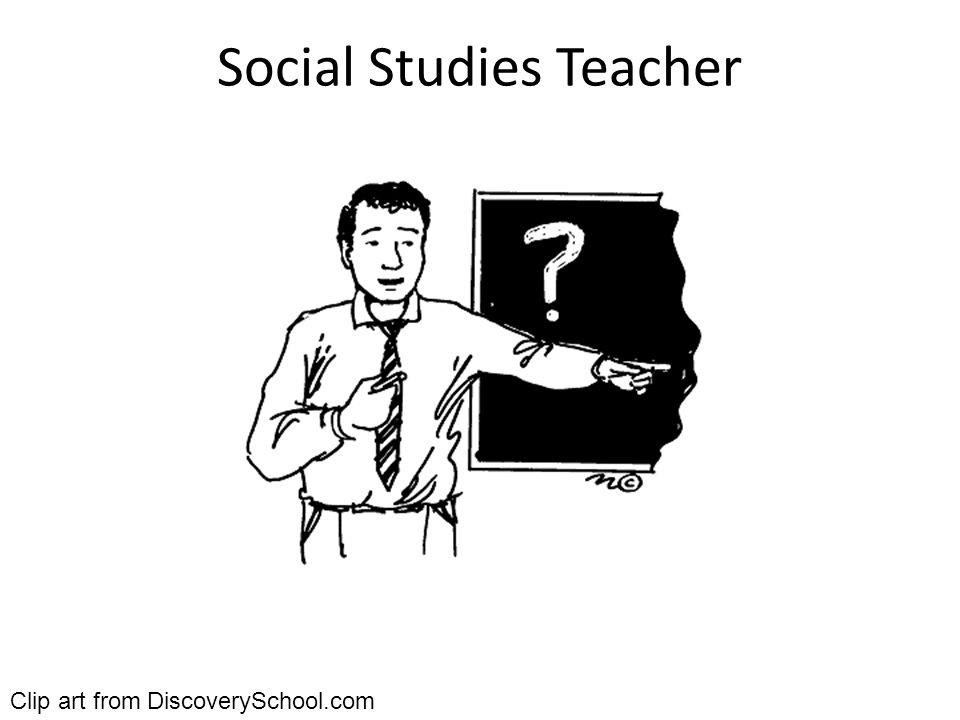 Social Studies Teacher Clip art from DiscoverySchool.com