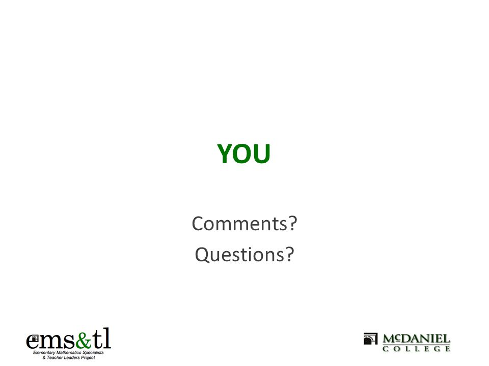 YOU Comments Questions