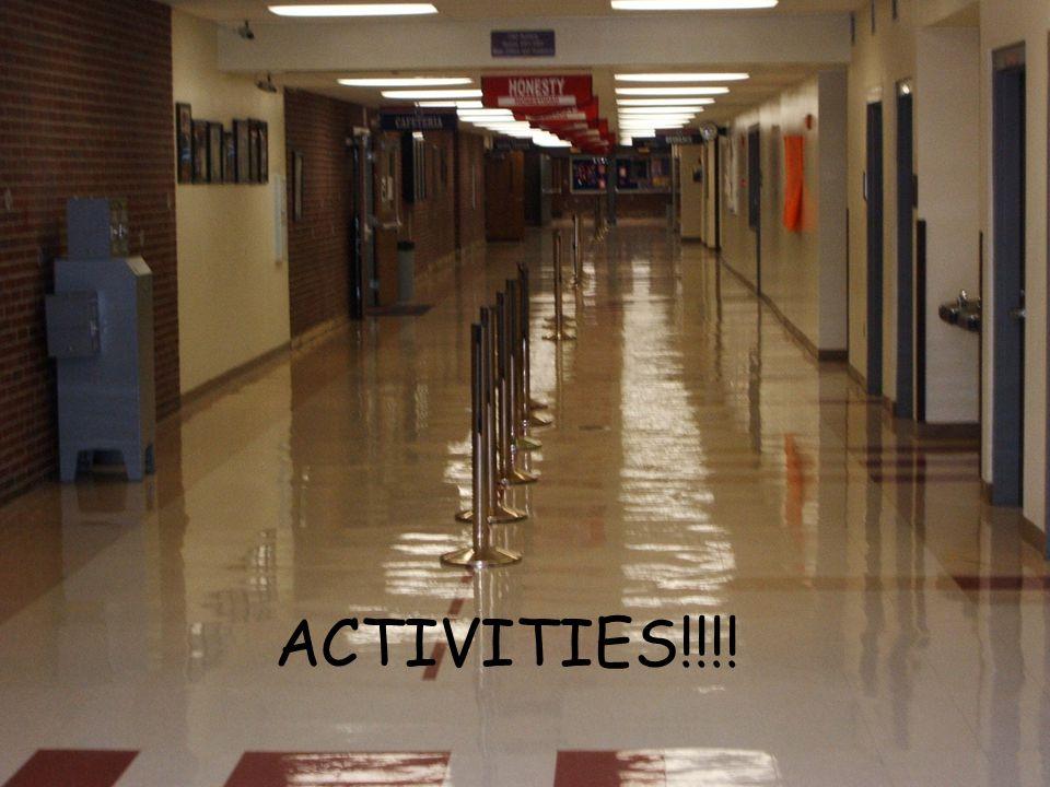 ACTIVITIES!!!!