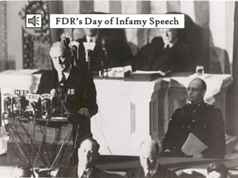 FDR's Day of Infamy Speech