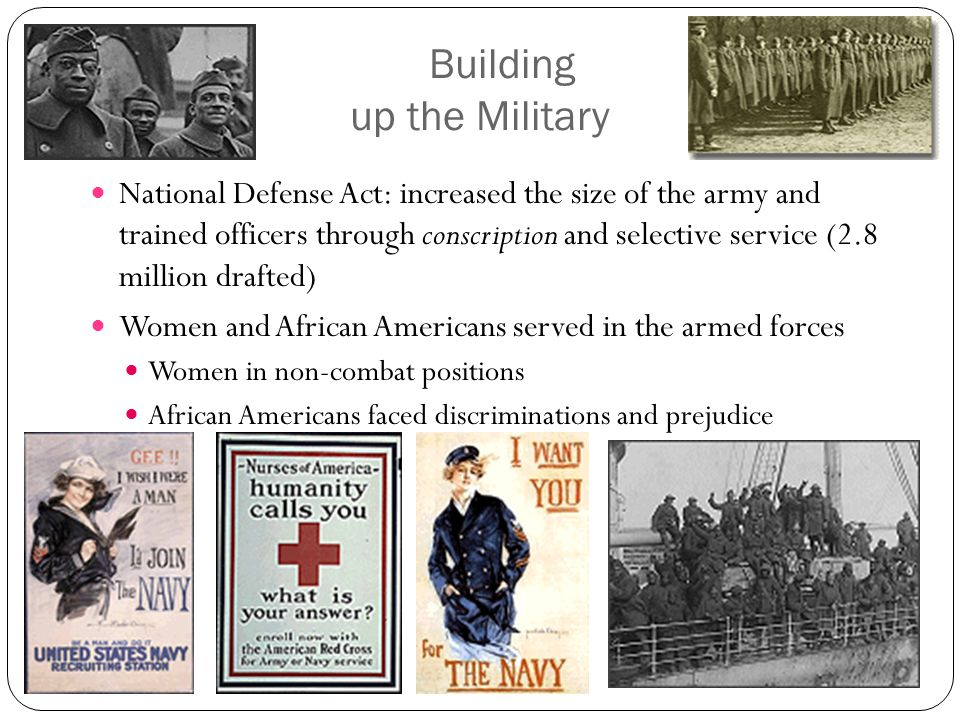 Organizing Industry War Industries Board- coordinated production of war materials Victory Gardens Liberty/Victory Bonds