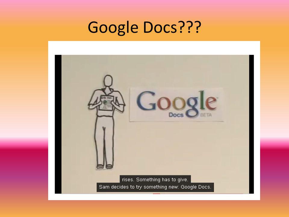 Google Docs???