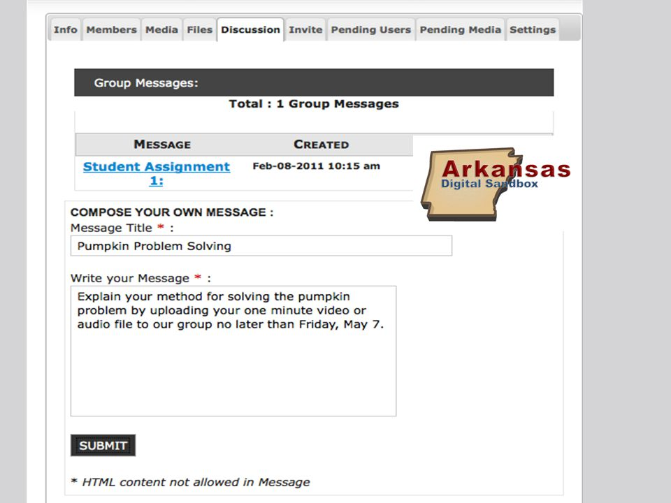 No. All media uploaded by students must be approved before it goes live on the Sandbox.