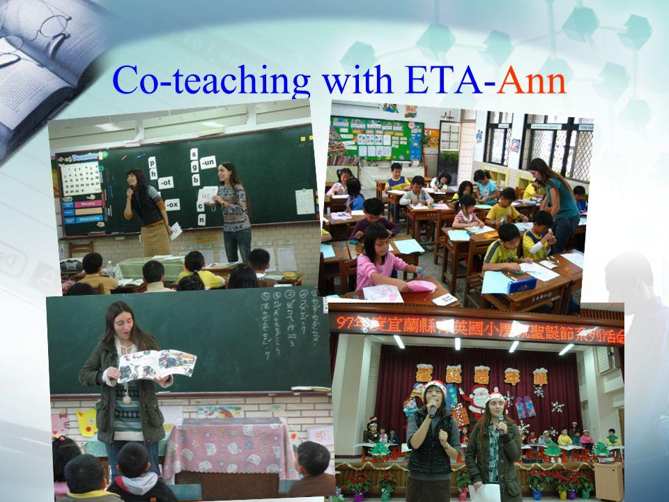 Co-teaching with ETA-Ann