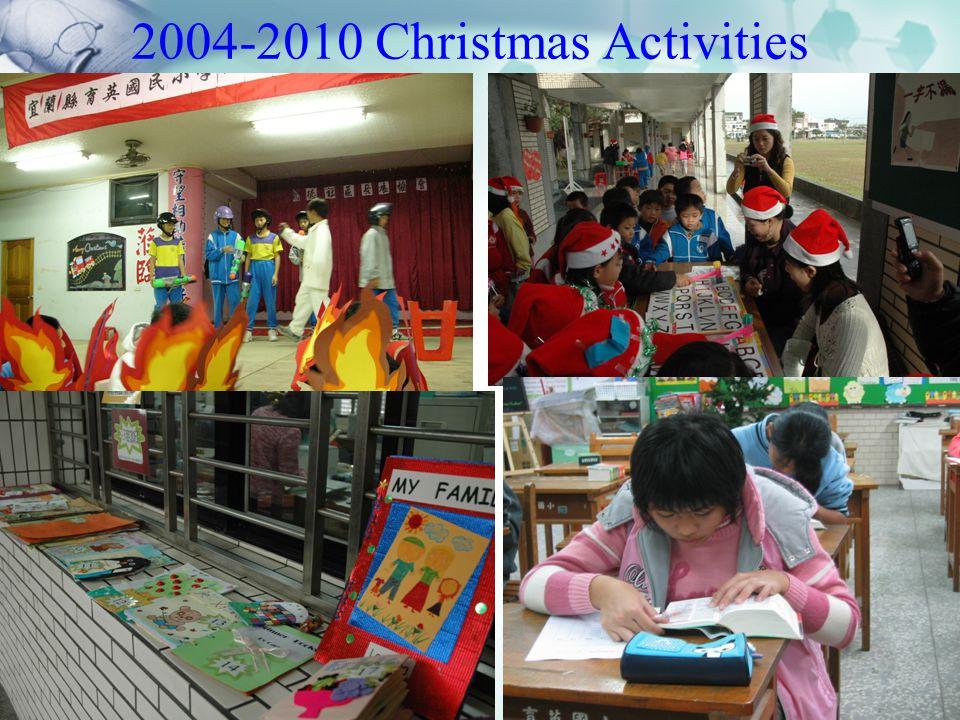 2004-2010 Christmas Activities