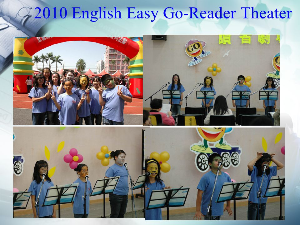 2010 English Easy Go-Reader Theater
