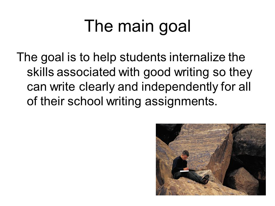 Starting small Features of a quality paragraph (copy them into your notes): A topic sentence Transitions Good explanations and examples A conclusion Does the paragraph on the next slide have all these features.