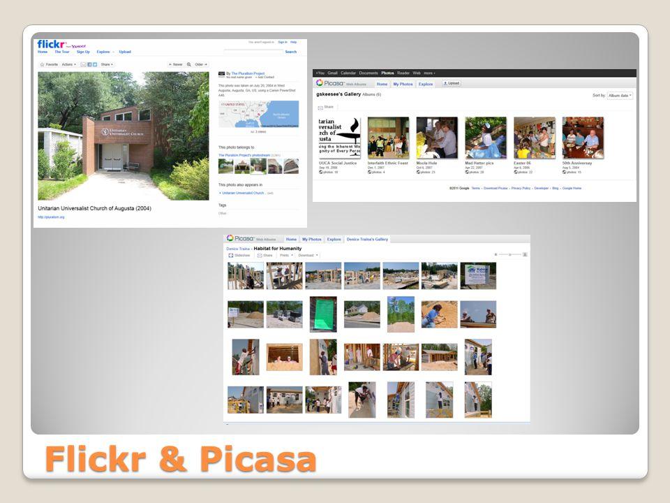 Flickr & Picasa