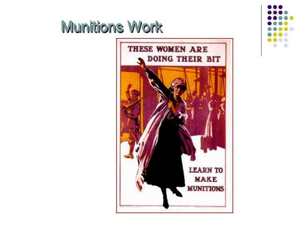 Munitions Work