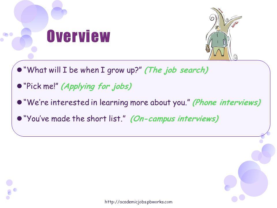 http://academicjobs.pbworks.com