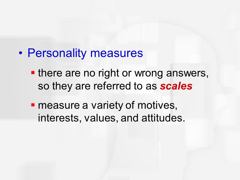 The validity of a personality test is best indicated by which of the following.