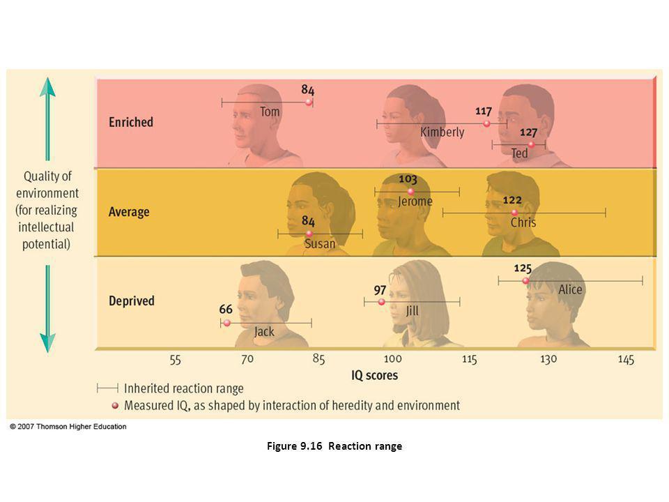 Figure 9.16 Reaction range
