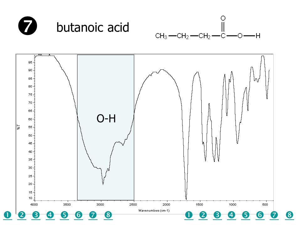 O-H butanoic acid  
