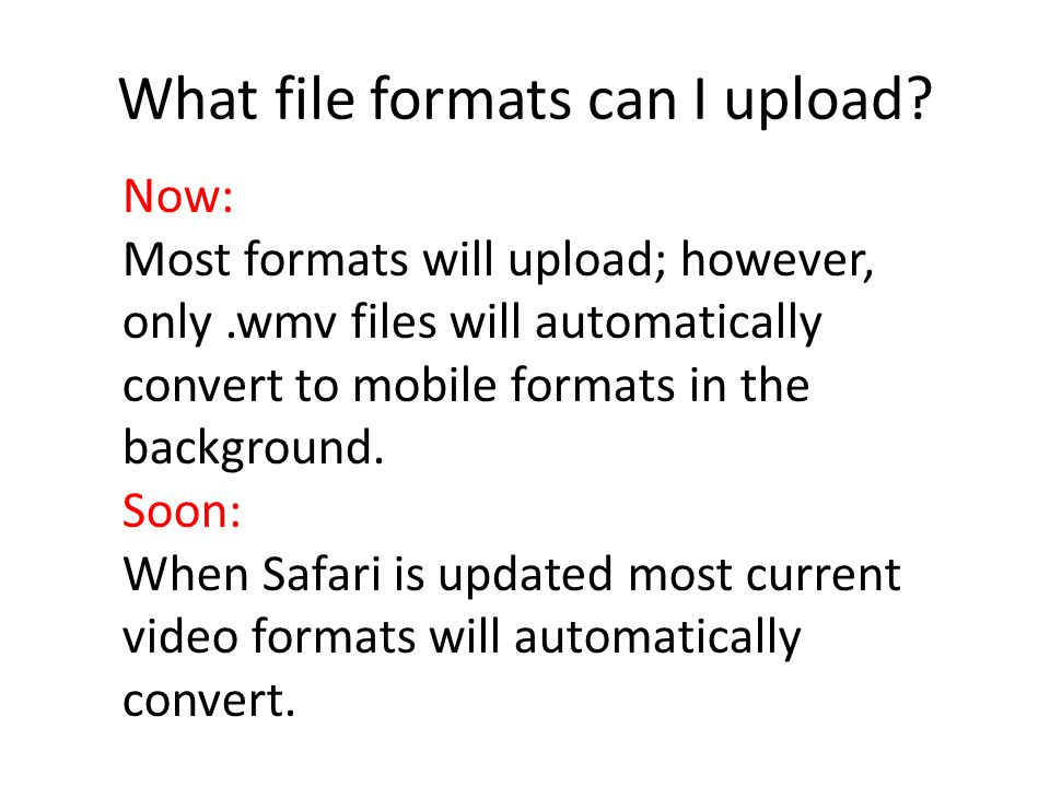 To Upload Video Choose the Creation Station icon.