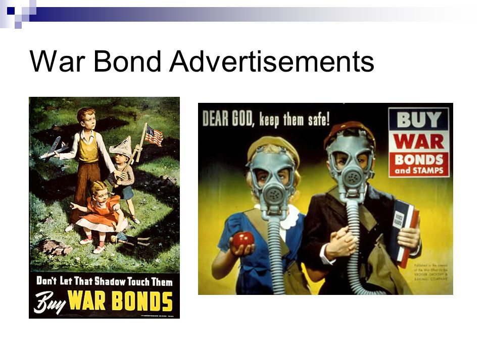 War Bond Advertisements