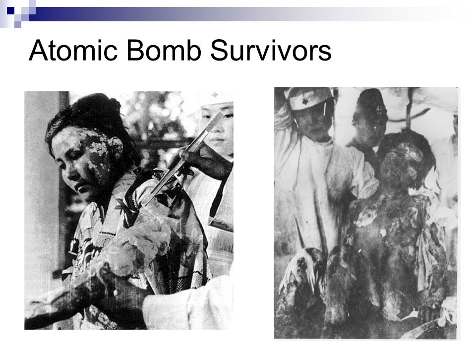 Atomic Bomb Survivors