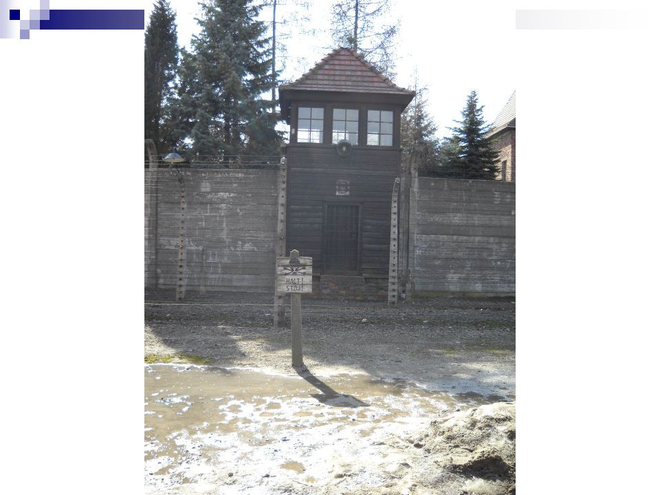 Wall where prisoners were shot after trials. Auschwitz I