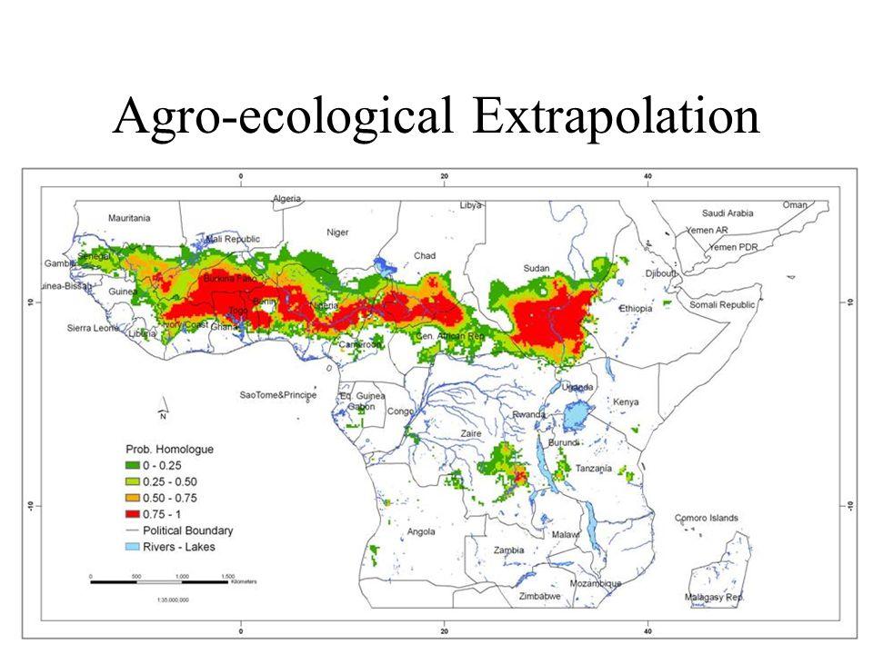 Agro-ecological Extrapolation