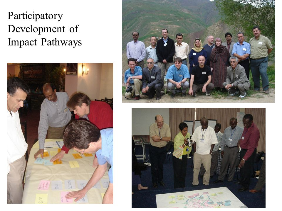 Participatory Development of Impact Pathways