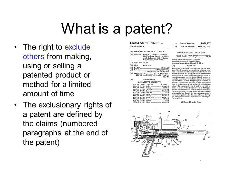 13 Defenses to patent infringement Non-infringement –Product is missing an element recited in claim –Patent expired Invalidity –Prior art –Unclean hands/fraud on the Patent Office –On-sale bar Laches –Patent owner waited too long to enforce patent