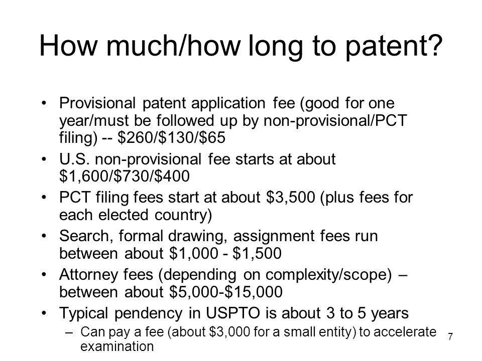 18 What is the difference between a patent and a trade secret Lifetime Patent - 20 years from priority date Trade Secret - if properly protected -- forever Disclosure Patent - tell the world Trade Secret - tell no one Practice by others Patent - Not until patent expires Trade Secret - When legally discovered by others