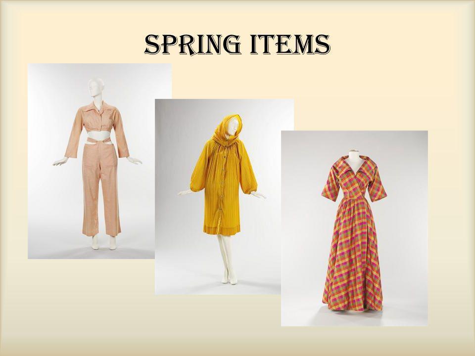 Spring Items