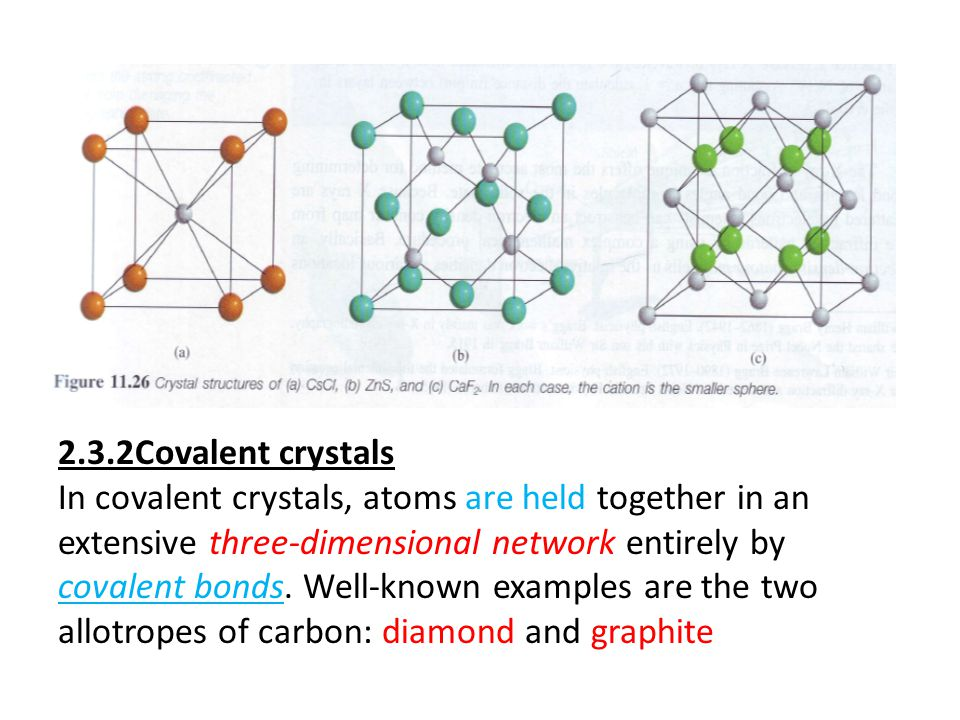 A measure of the stability of ionic crystals is the lattice energy; the higher the lattice energy, the more stable the compound. These solids do not c