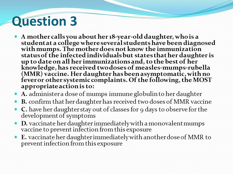 Answer 7: C History of wheezing in the past year for the boy