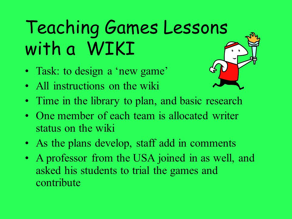 Could you ask pupils to create PODCASTS or WIKIS instead of the over used Power Point presentation .