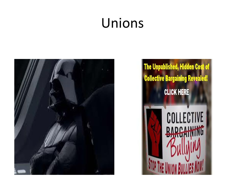 Unions as spokesperson http://www.youtube.com/watch?v=yQVLYV_ZKl Q&feature=related
