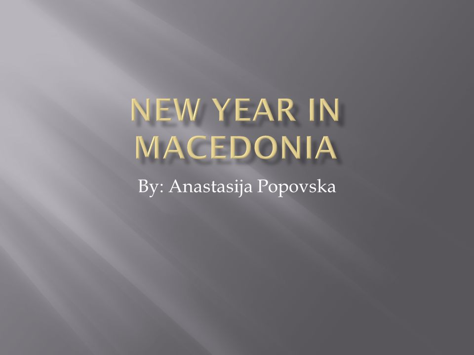 By: Anastasija Popovska